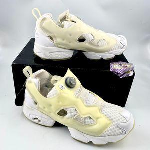 Reebok Sandro Instapump Fury Chalk Running Shoes